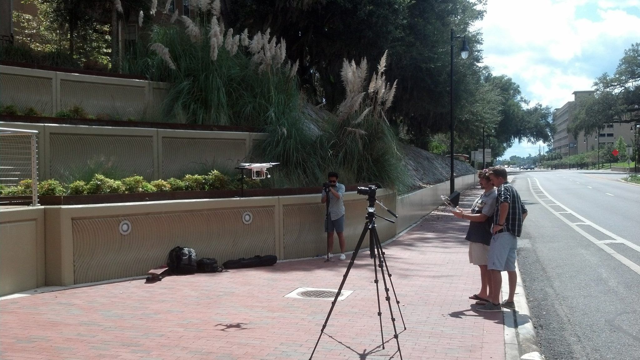 Eli Meyer filming