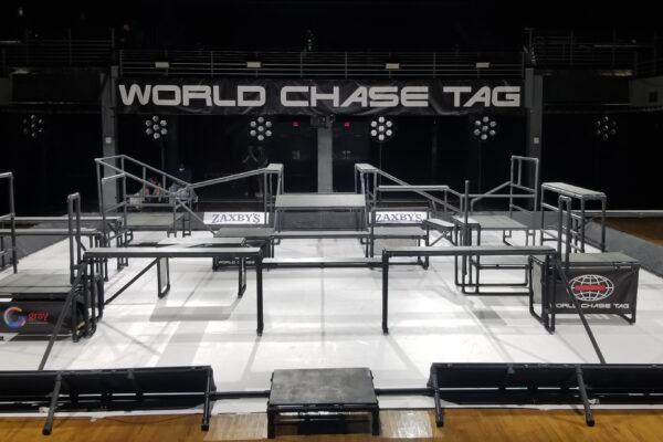 World Chase Tag Quad Set Up