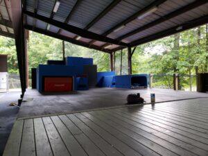 Summer camp parkour equipment